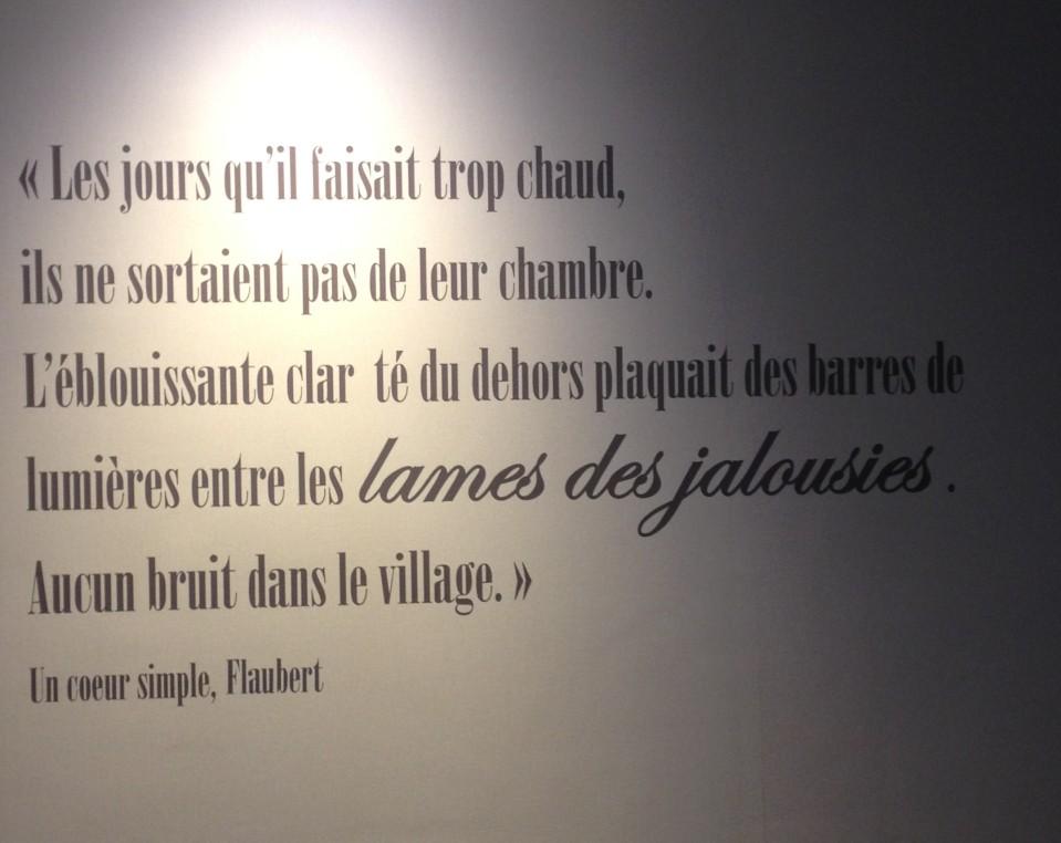 Citation Flaubert Ma Beaute
