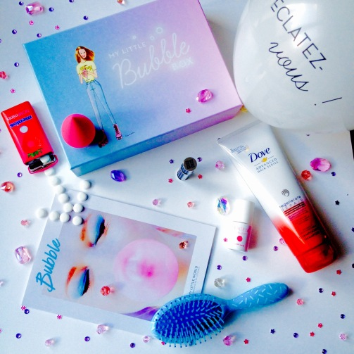 MyLittle box mars 2016, une beauty box gonflée à bloc