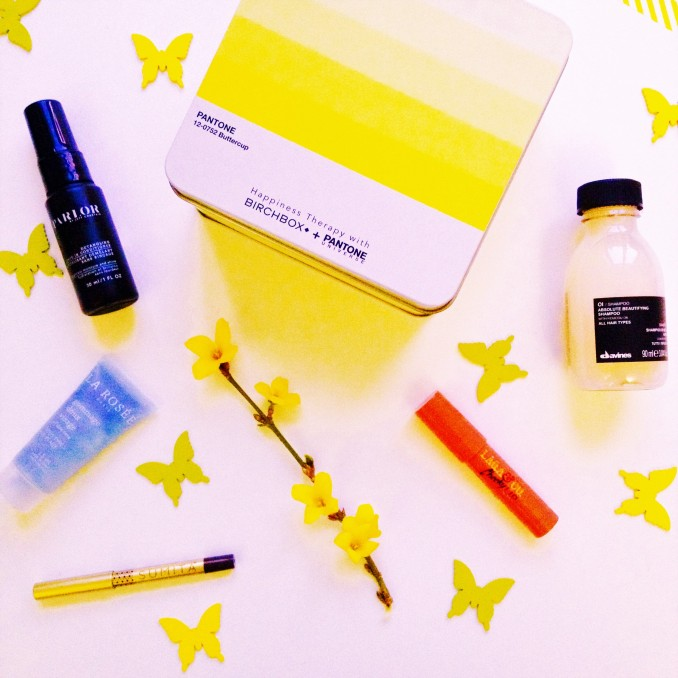Photo couverture Birchbox avril 2016