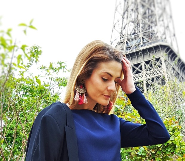 Photo Look 1 Maman Boucles d'oreilles